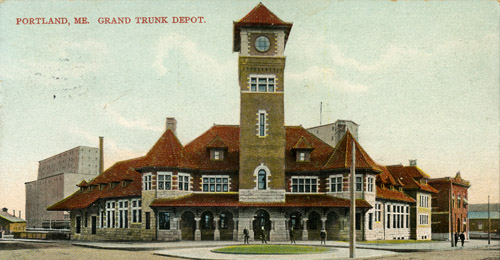 Grand Trunk Railway Stations