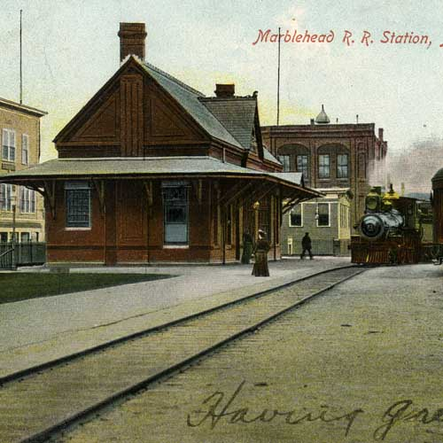 Railroad Stations in Massachusetts