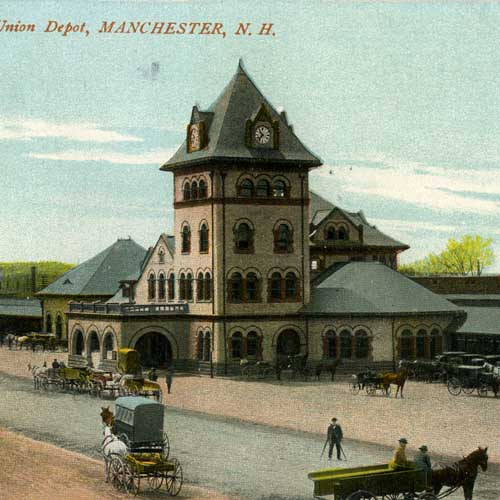 Railroad Stations in New Hampshire
