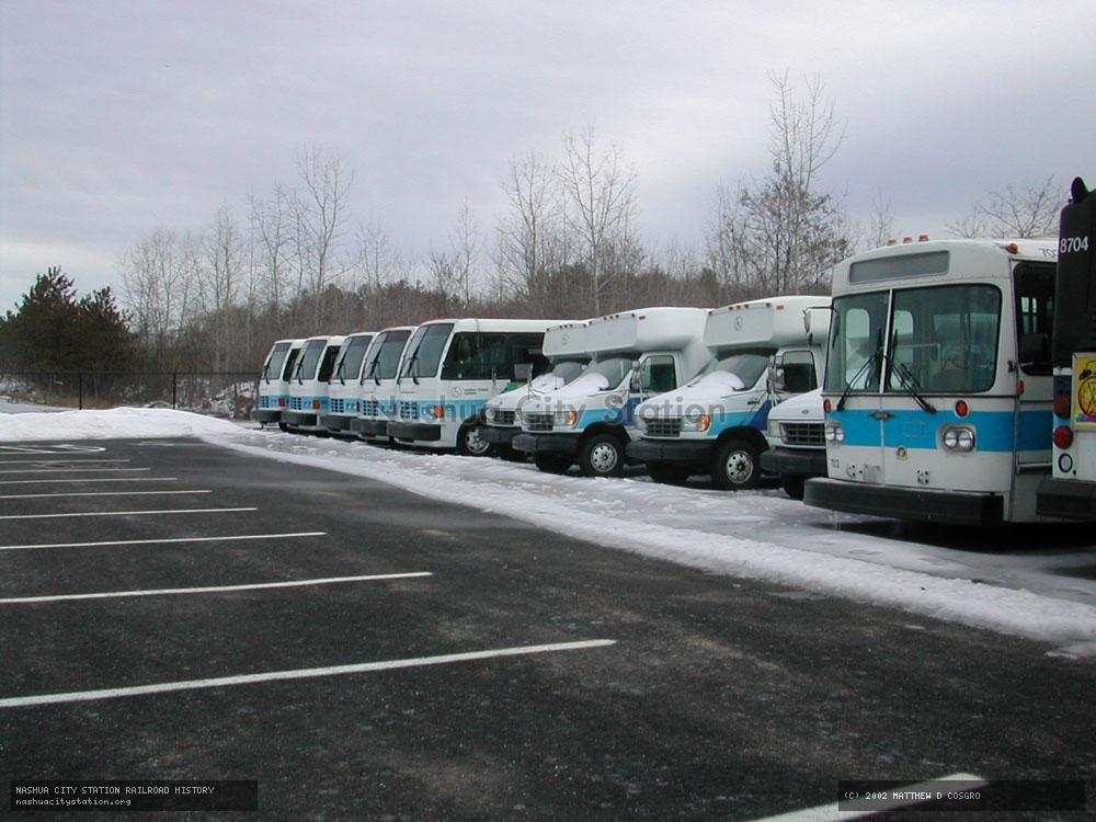Digital Image: Retired Nashua Transit Fleet